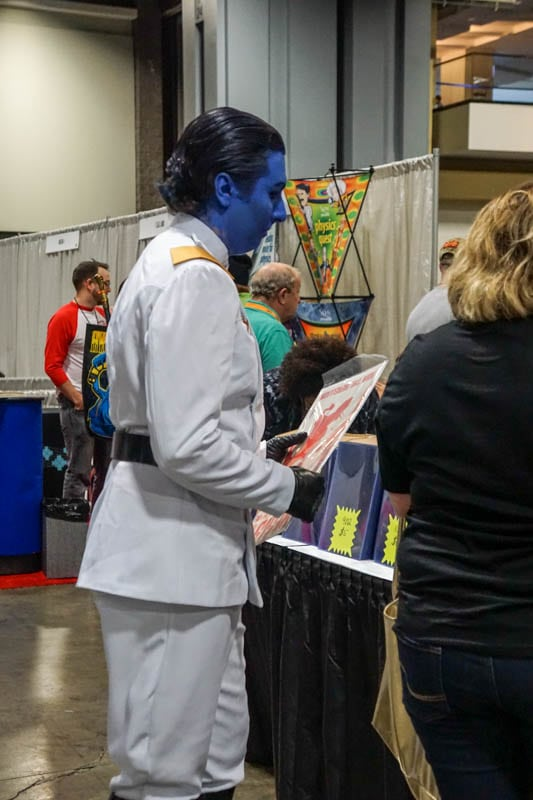Blue guy - Awesome Con