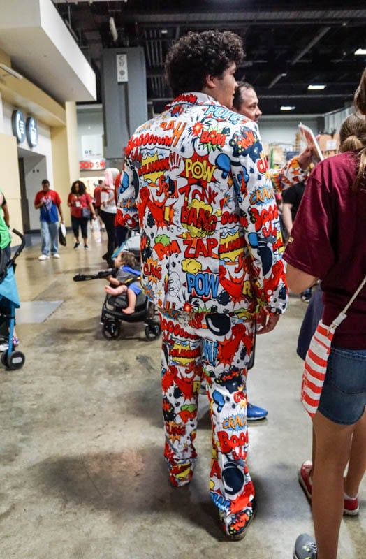 Comic suit - Awesome Con