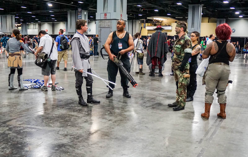 Fighting - Awesome Con