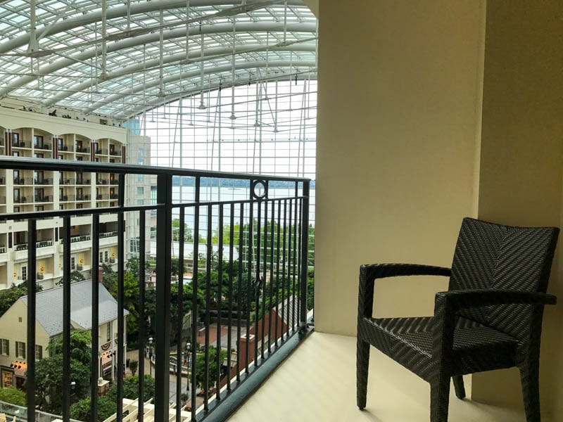 Gaylord National - Balcony room