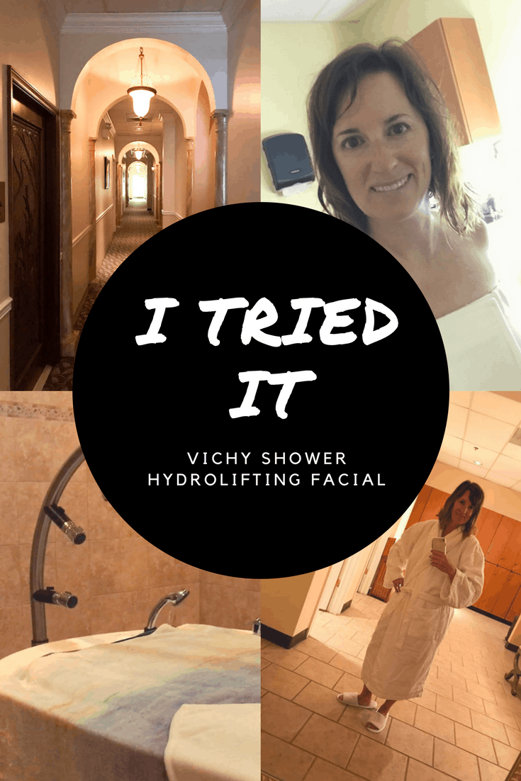 I TRIED IT - Vichy Shower and Hydrolifting Facial