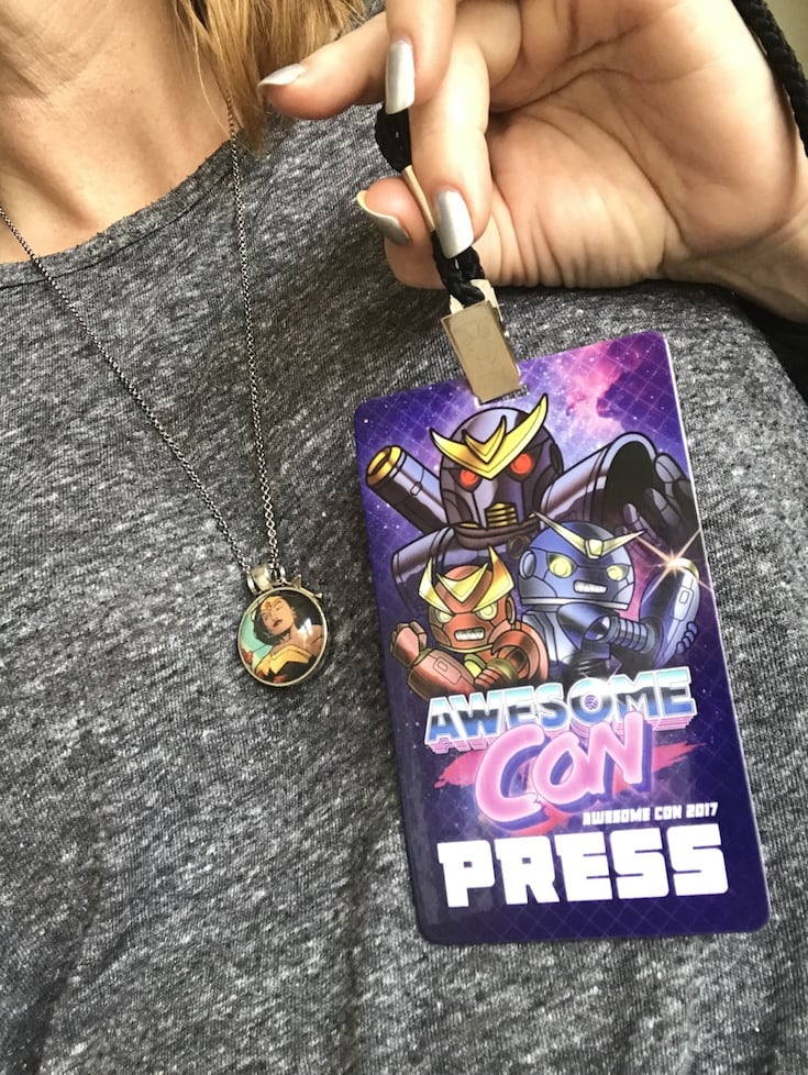 Press pass - Awesome Con