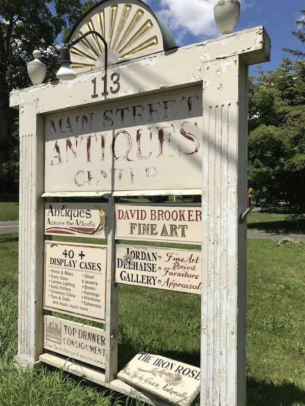 Main Street Antiques - Woodbury, CT