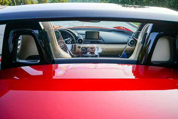 Mazda Miata MX-5 RF windscreen