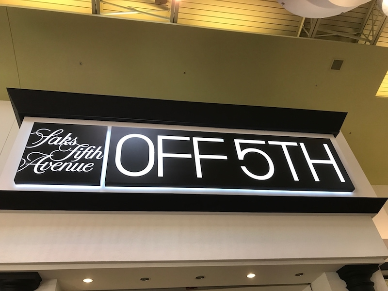 Saks Fifth Avenue Off 5th at Arundel Mills