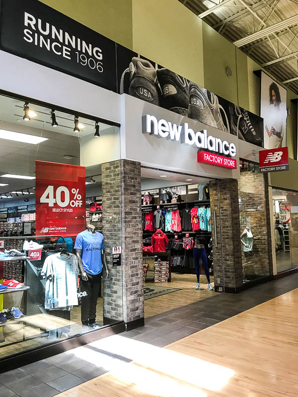 New Balance Factory Store at Arundel Mills