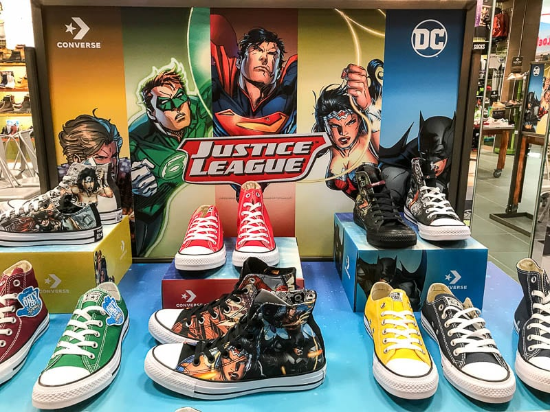 Justice League and Converse