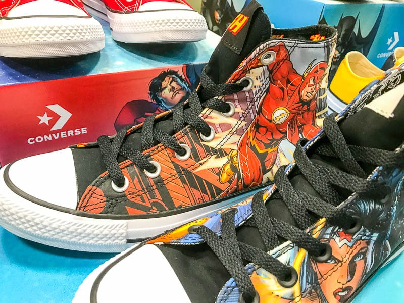 The Flash Converse shoes