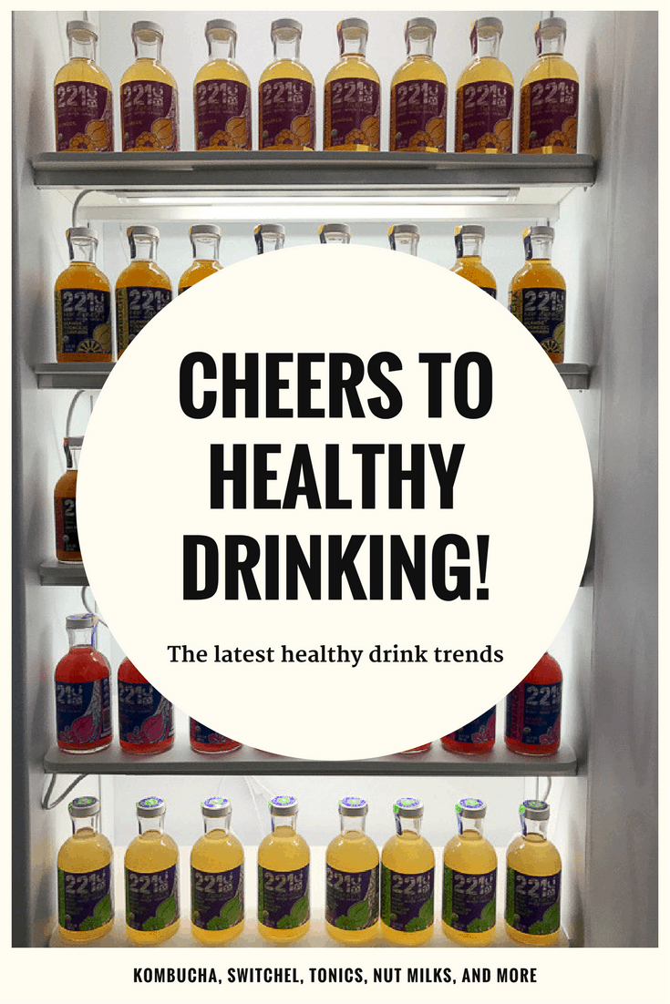 cheers to healthy drinking!