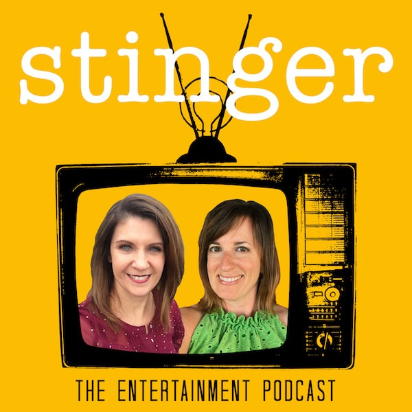 Stinger podcast logo