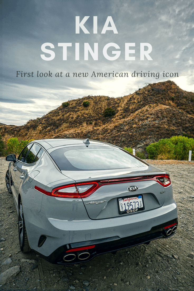 Kia Stinger - new driving icon