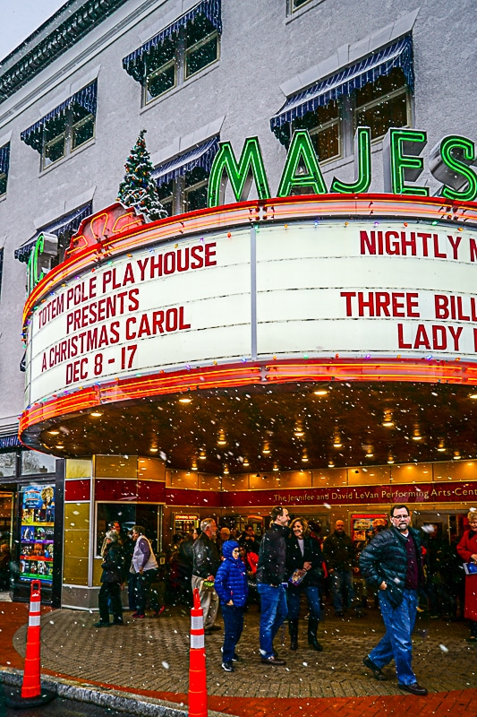 A Christmas Carol is a longstanding tradition at The Majestic Theate