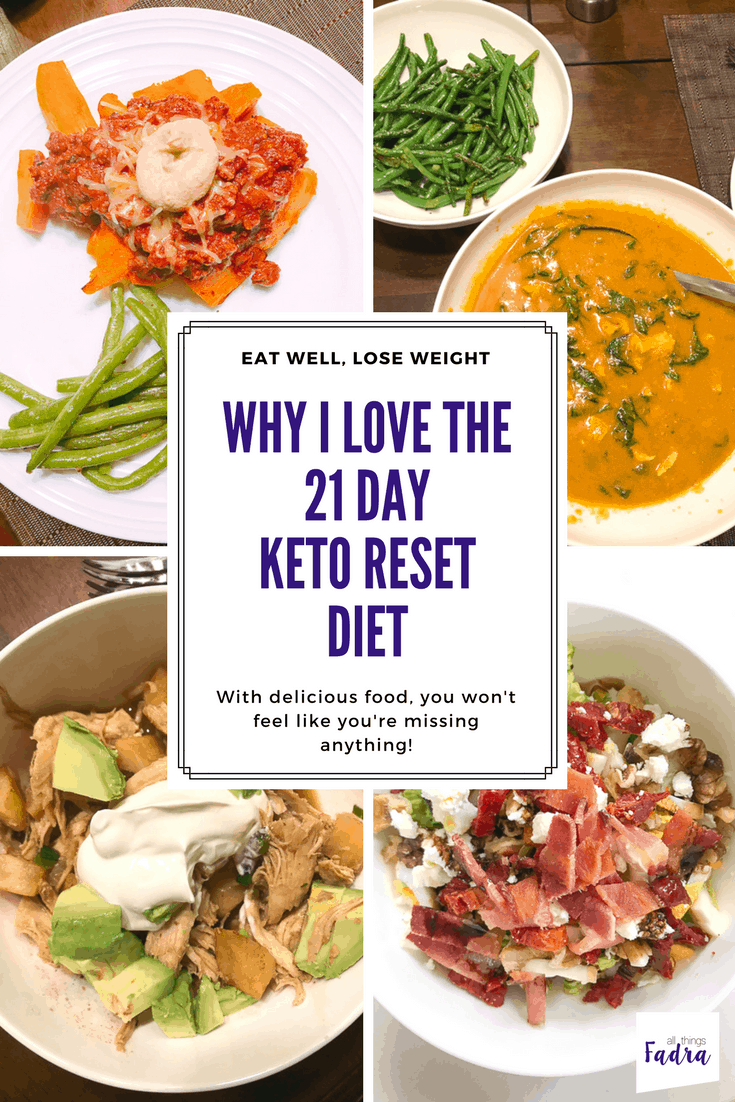21 day keto reset diet