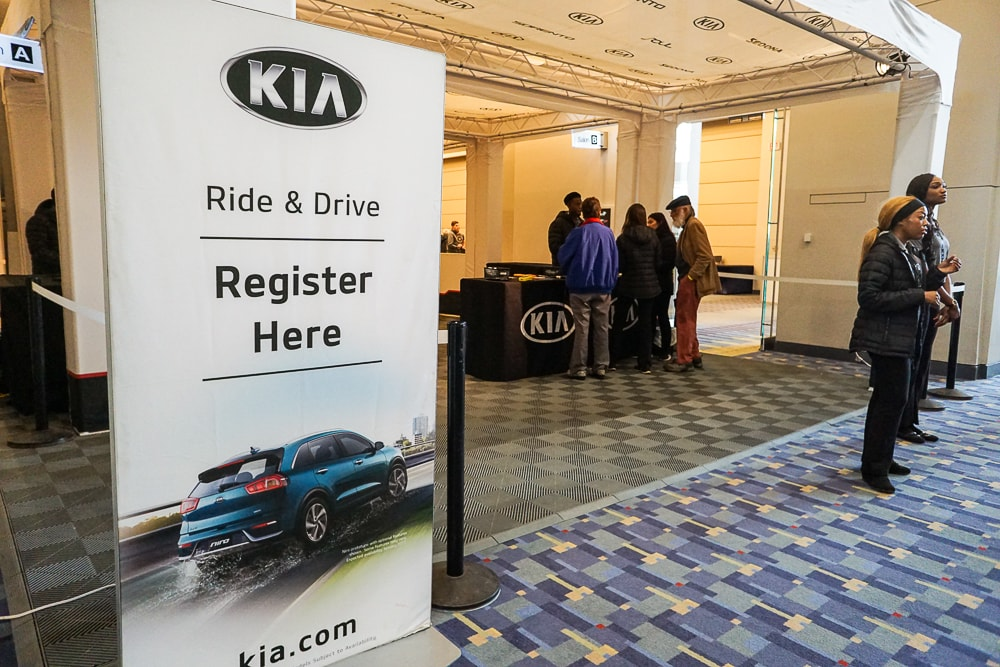Kia Ride & Drive registration - Washington Auto Show