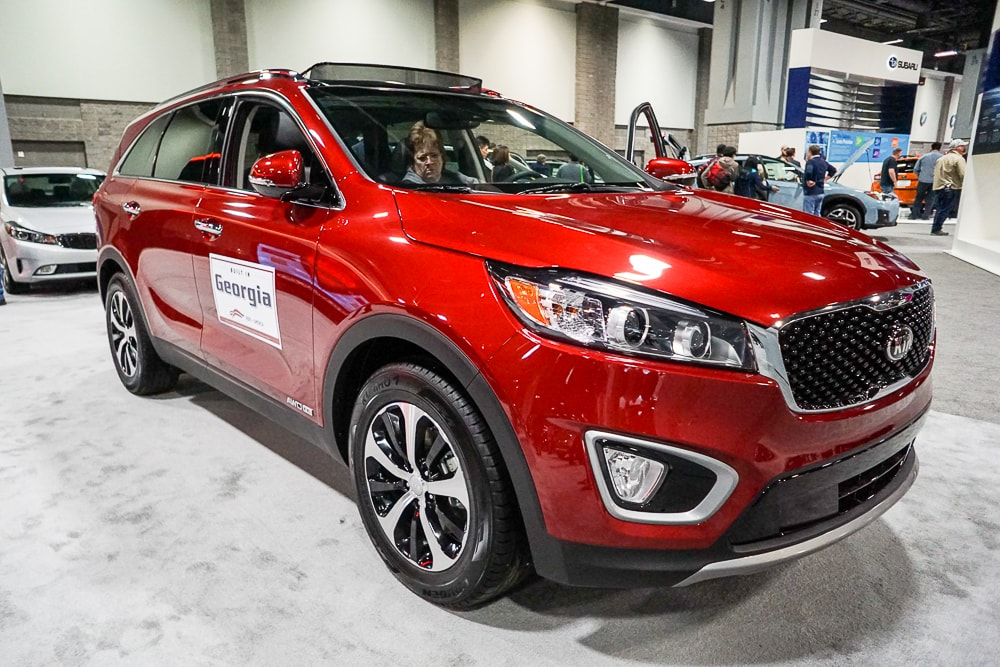 Kia Sorento at Washington Auto Show