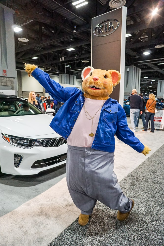 Kia Soul HAMSTER at Washington Auto Show