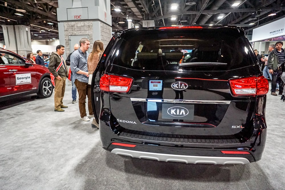 Kia Sedona - Washington Auto Show
