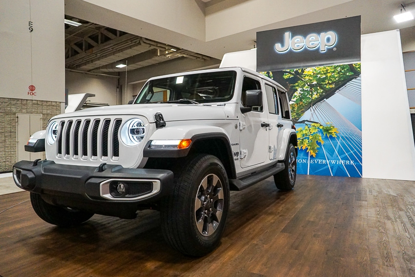 Auto Shows-Jeep Wrangler