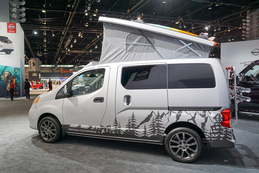 Auto Shows-Nissan Envy Camper Van