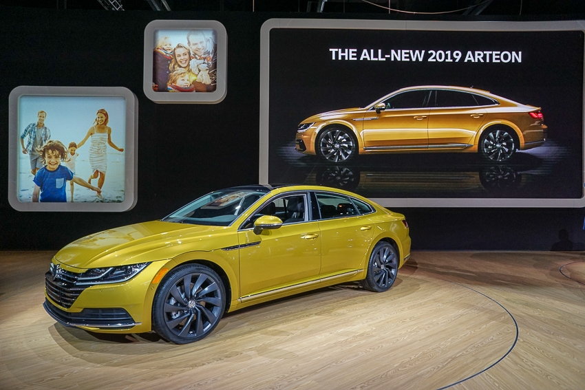 Auto Shows-VW Arteon