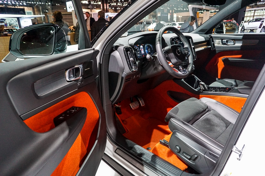 Auto Shows-Volvo XC40 - interior