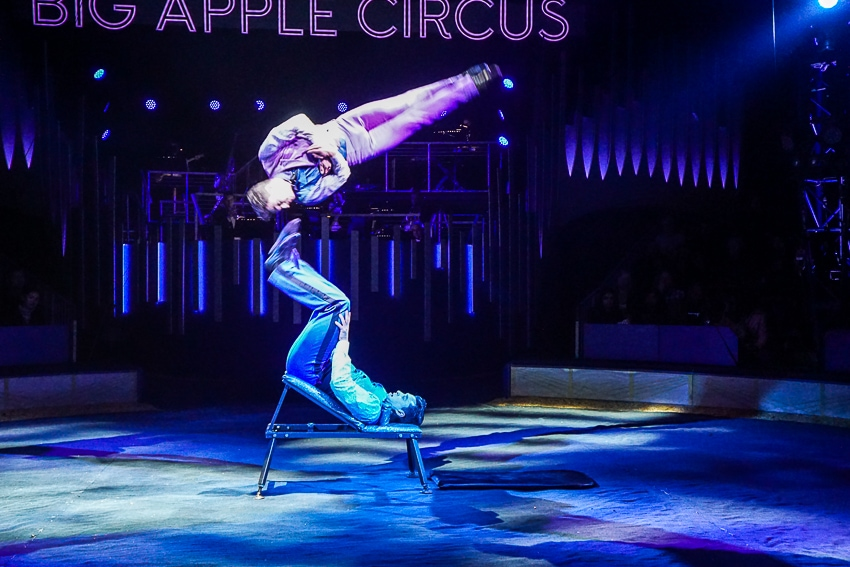 Acrobats at Big Apple Circus