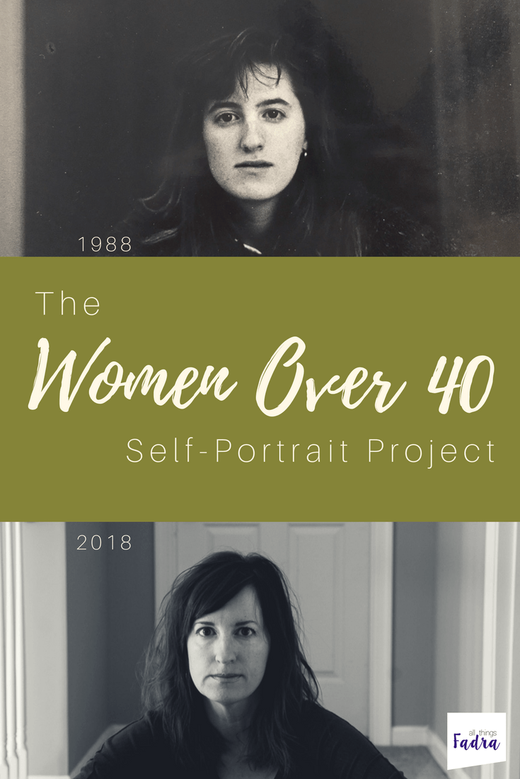 The Women Over 40 Self-Portrait Project