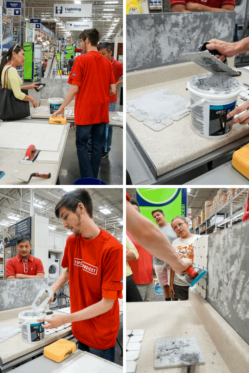 Tiling 101 with The UpSkill Project