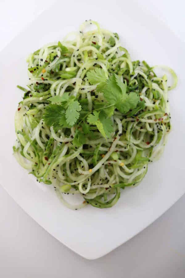 Cucumber-Spiralized-Salad