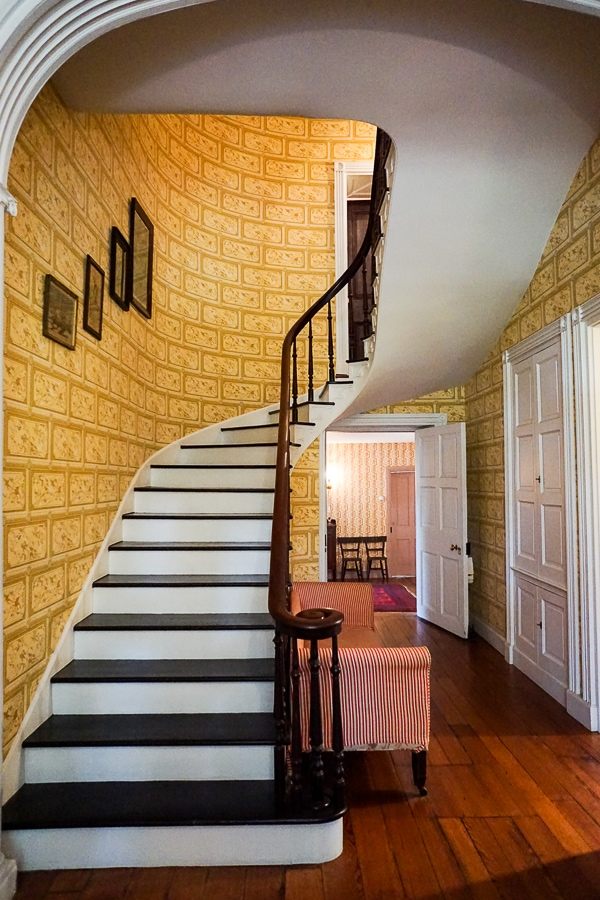 Fort Hunter staircase