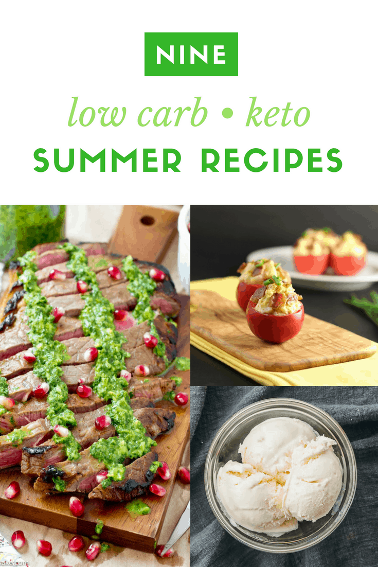Low Carb Keto Summer Recipes