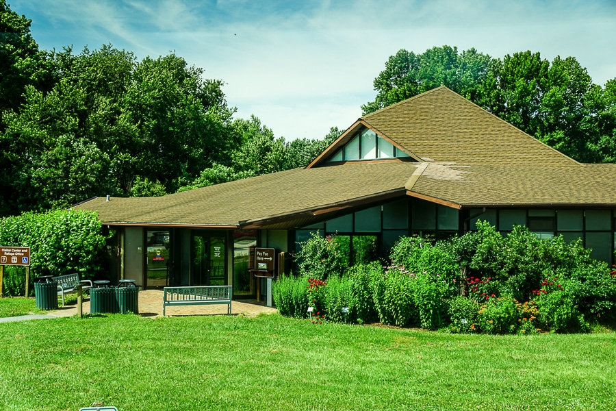 Visitors Center at Bombay Hook National Wildlife Refuge