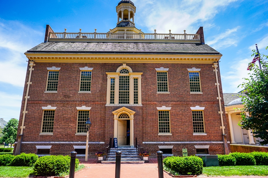 Old State House in Dover, DE