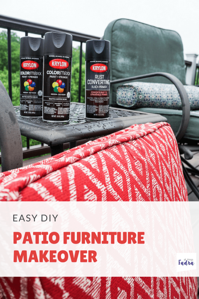 Easy DIY - Patio Furniture Makeover