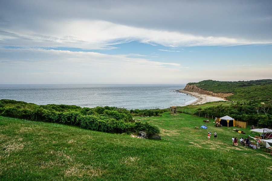 The cliffs over looking Montauk