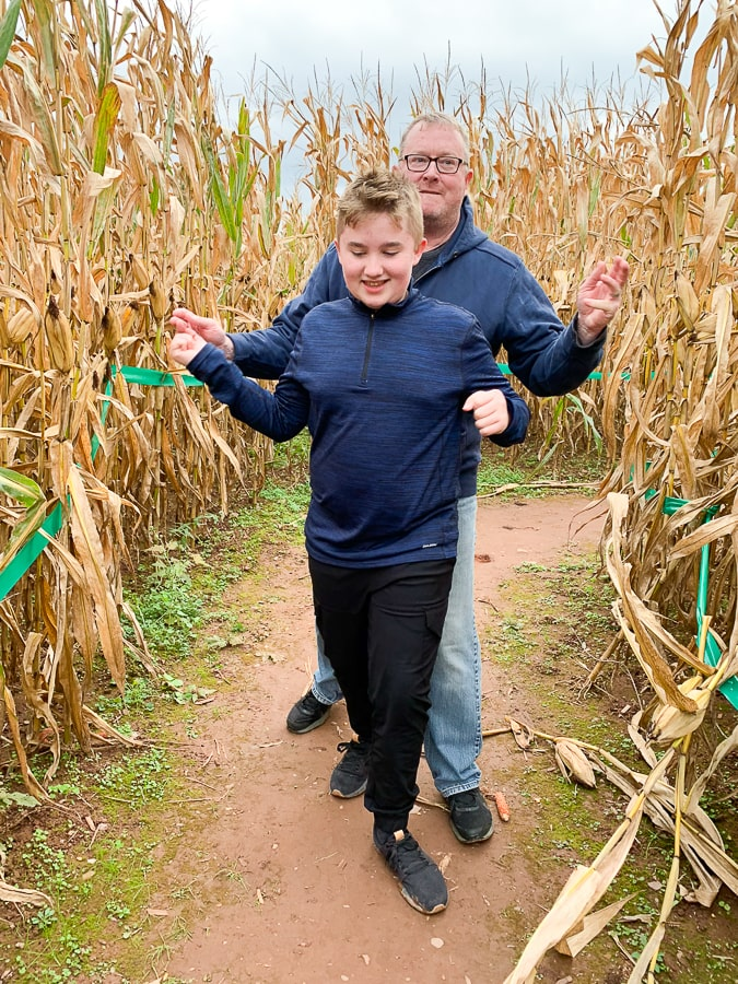 Fields of Adventure at the end of the corn maze