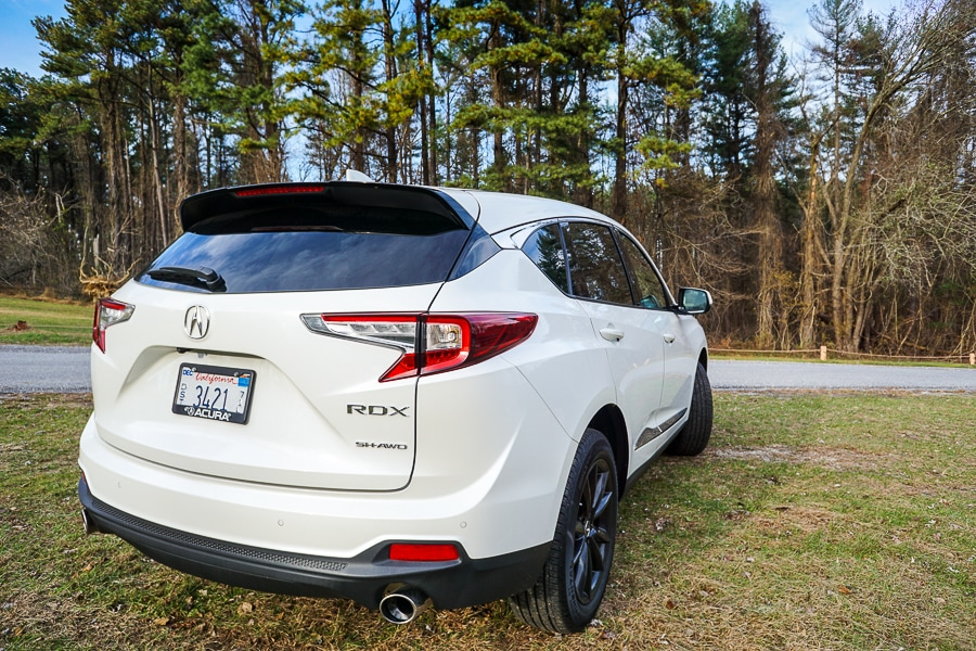 Acura RDX Dragon Tail Taillights