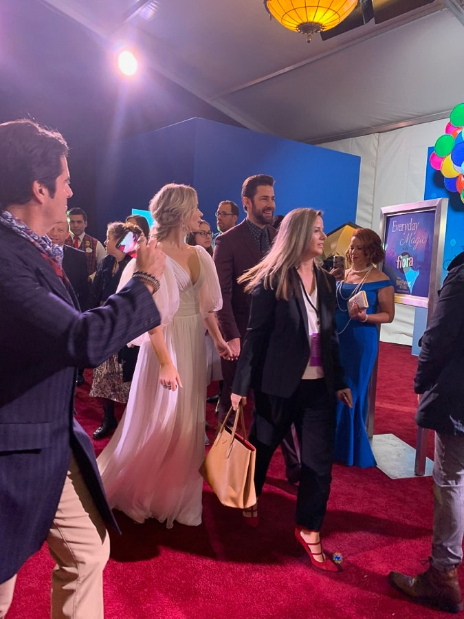 Emily Blunt and John Krasinski at the Mary Poppins Returns premiere