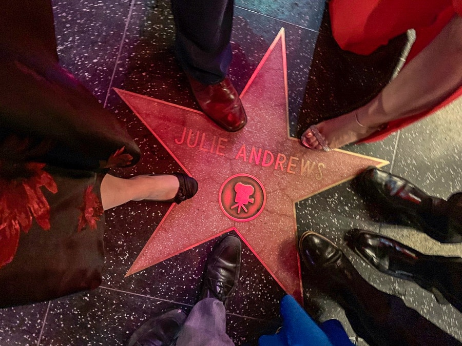Julie Andrews - Walk of Fame star
