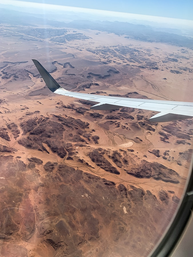 Saudi Arabia from the air