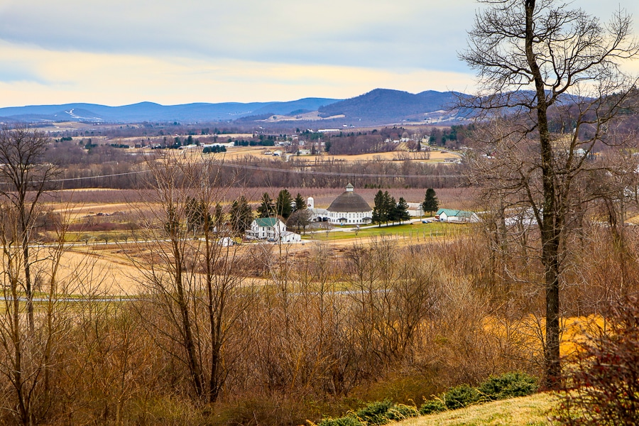 View from Hauser Estates and Winery