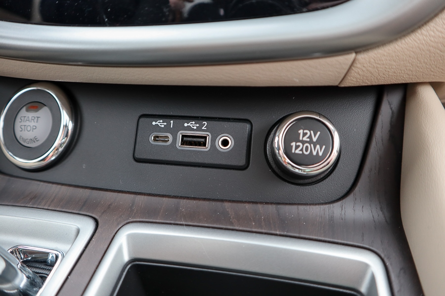 Nissan Murano USB connections