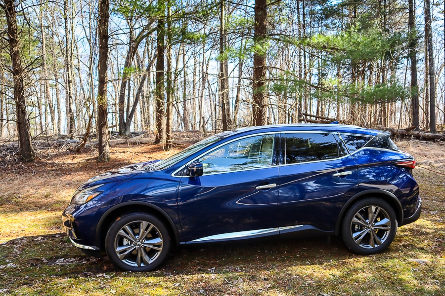 2019 Nissan Murano Platinum in Deep Blue Pearl