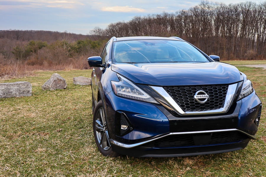 Nissan Murano revised front for 2019