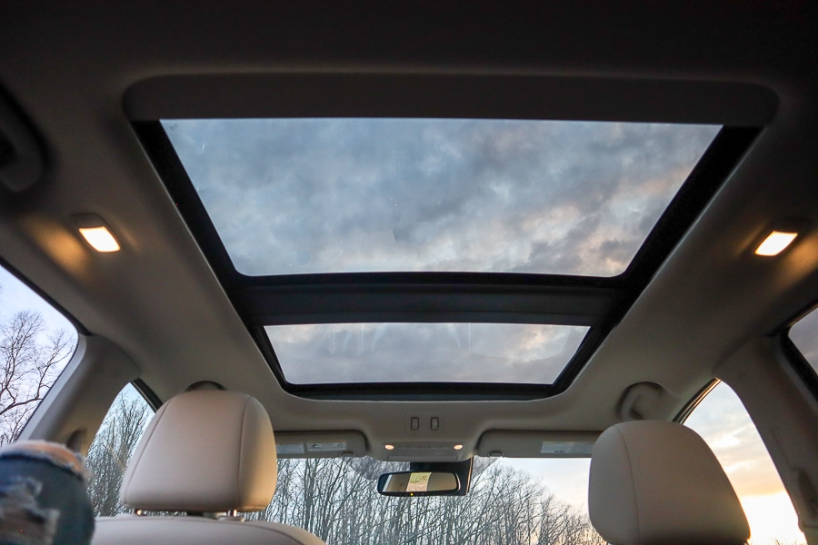 Nissan Murano Power Panoramic Moonroof