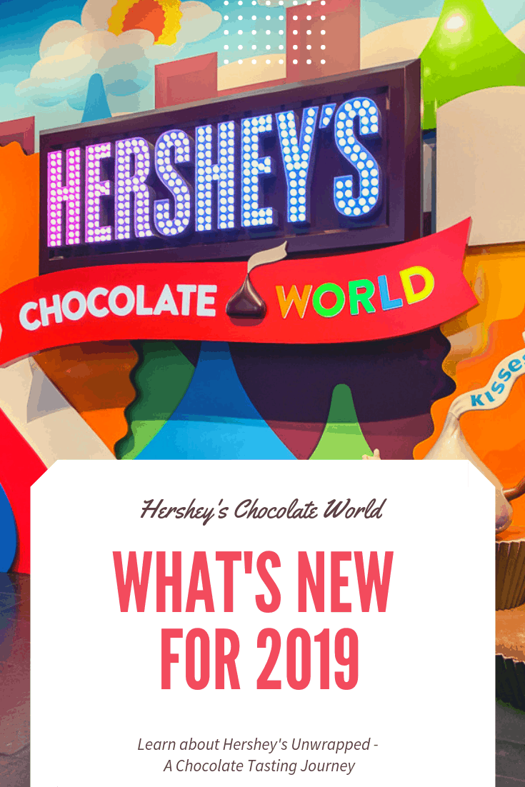 What's New at Hershey's Chocolate World