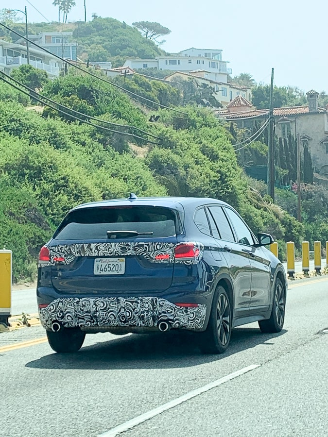 Spy car on PCH