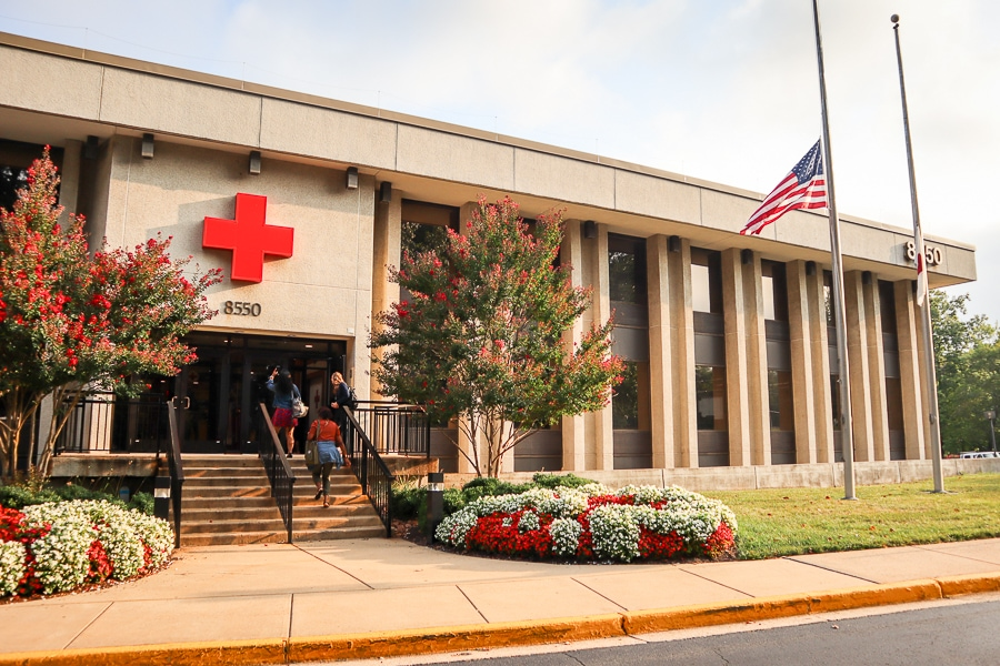 American Red Cross runs the Disaster Operations Center