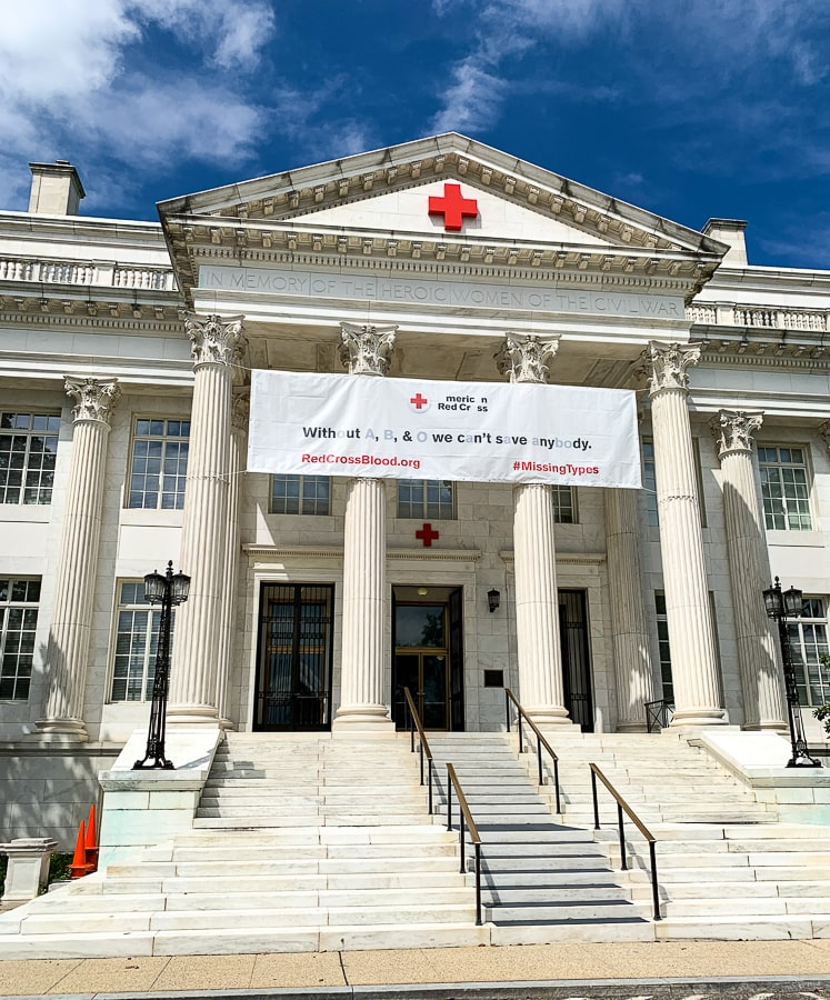 American Red Cross headquarters