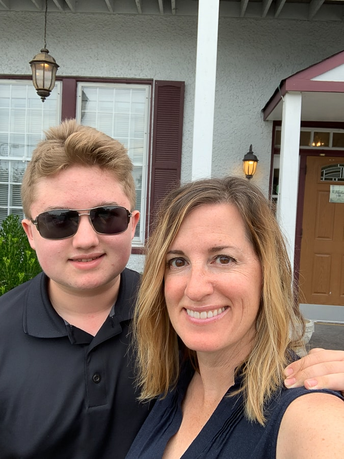 Mom and son day out